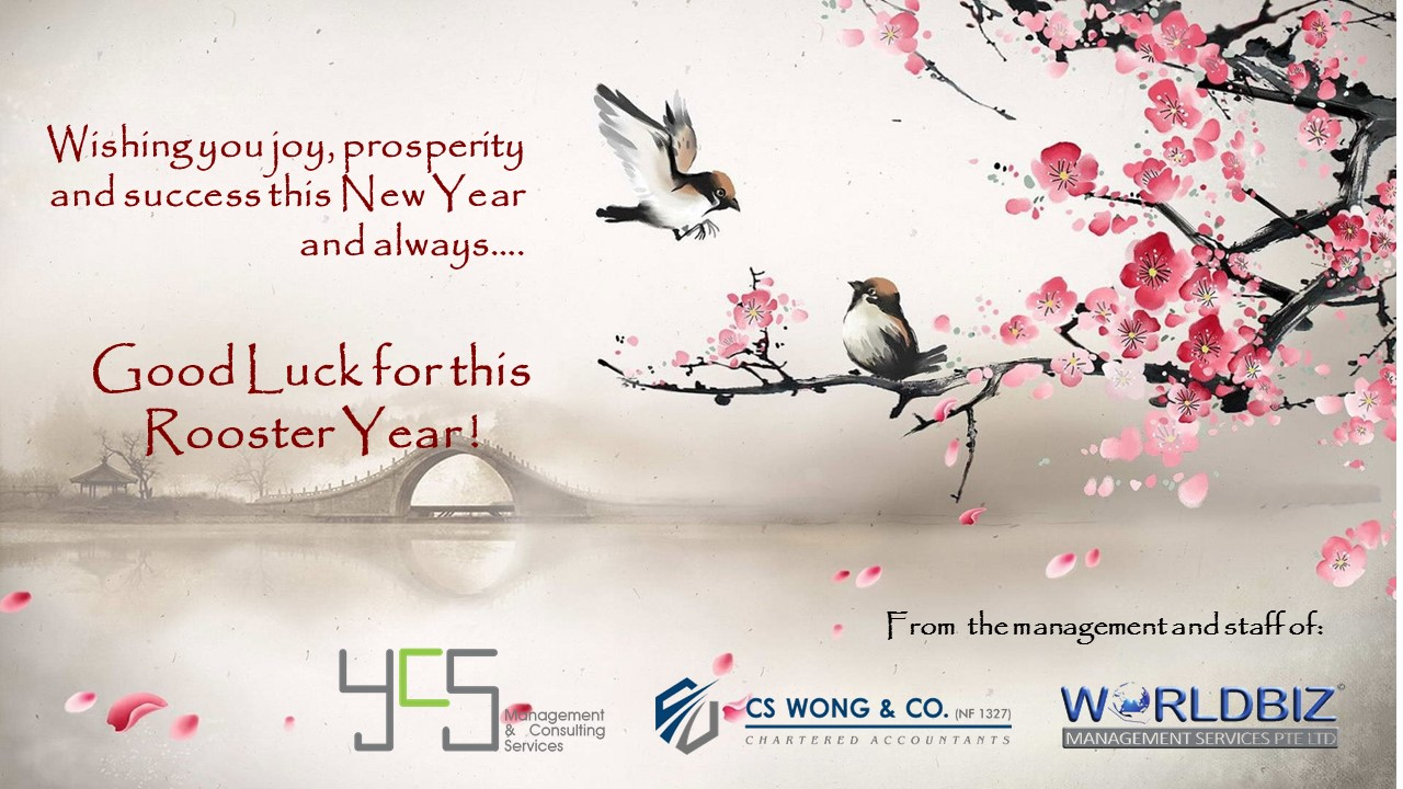 Happy Chinese New Year from YCS